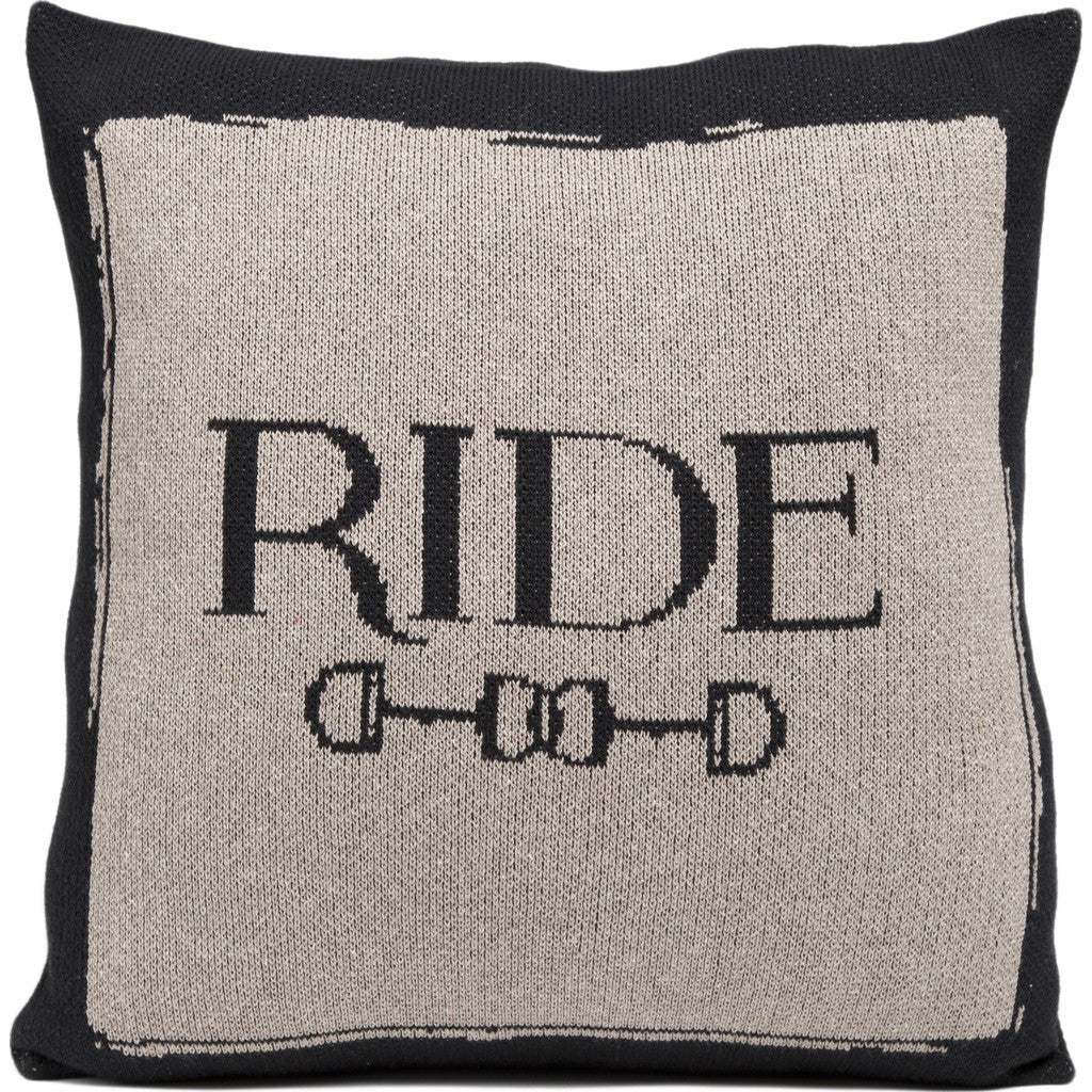 in2green Ride Eco Pillow | Black/Hemp PL18RD1