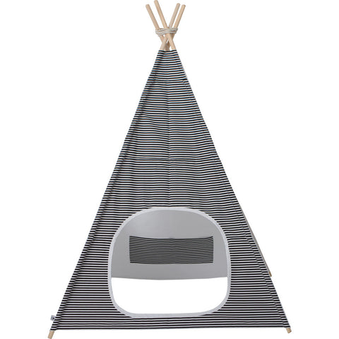 Wild Design Lab Riley Teepee |  Black/White Stripes TPJW