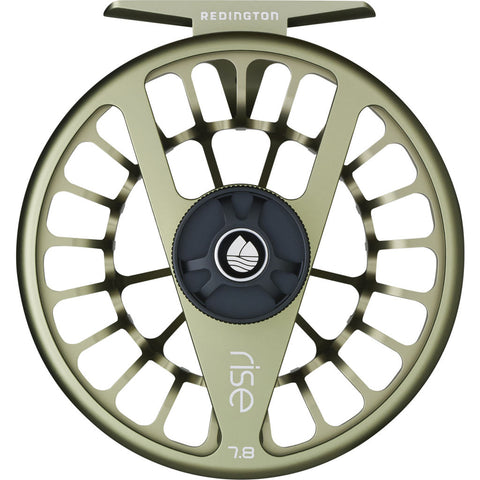 Redington Fishing Reel Rise Series 5/6 | Olive 5-5508R5604