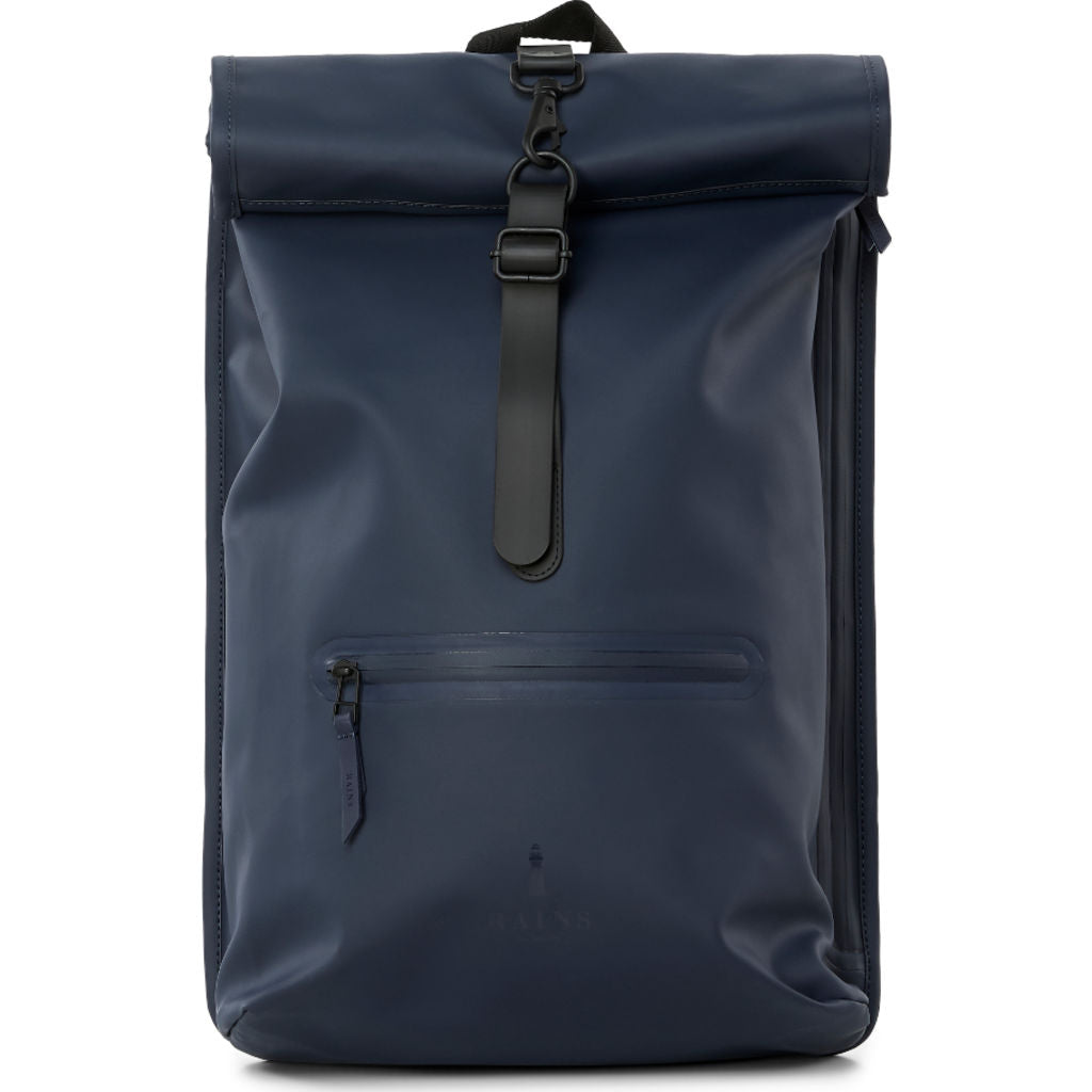 new lower prices clearance sale cheap price RAINS Waterproof Rolltop Rucksack | Blue - Sportique