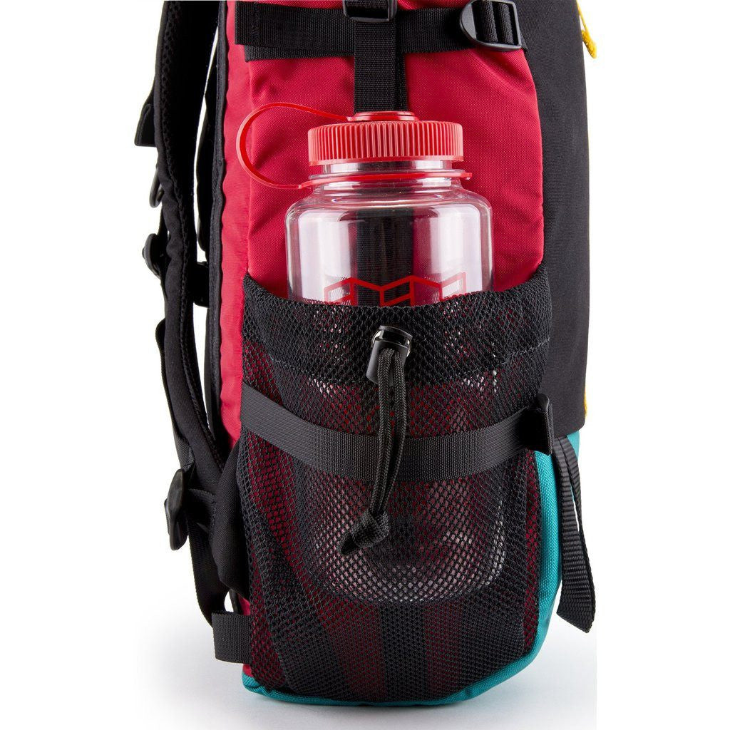 Topo Designs Mountain Roll Top Backpack.