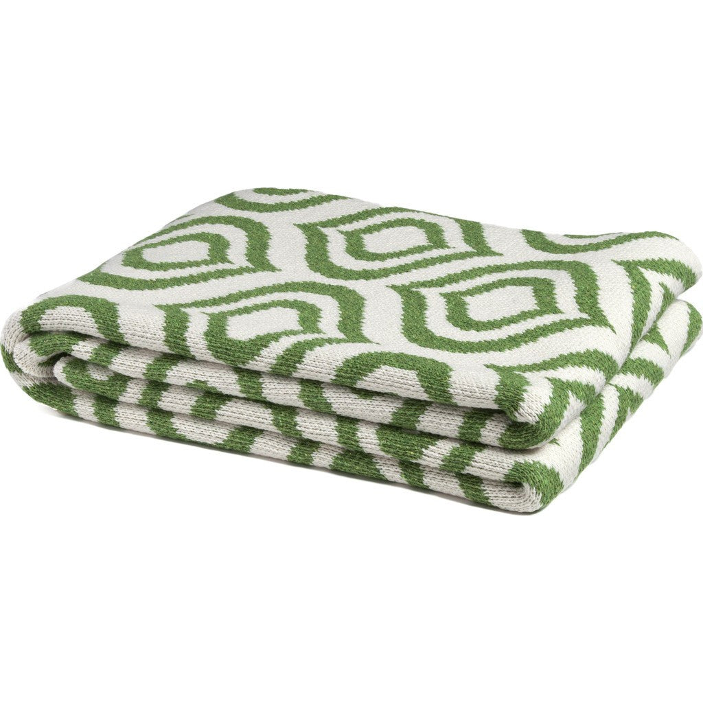 in2green Royal Eco Throw | Avocado/Milk BL01RY2