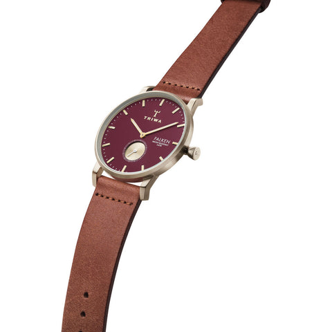 Triwa Ruby Falken Classic Watch | Brown FAST117-CL010217