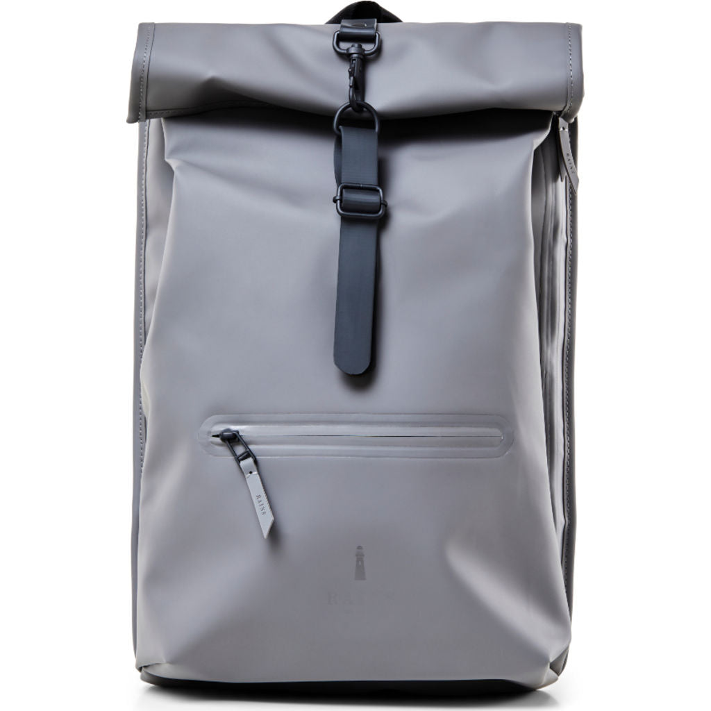 another chance clearance sale super cute RAINS Waterproof Rolltop Rucksack | Charcoal - Sportique