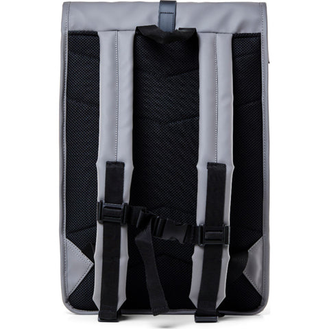 Rains Waterproof Rolltop Rucksack | Charcoal