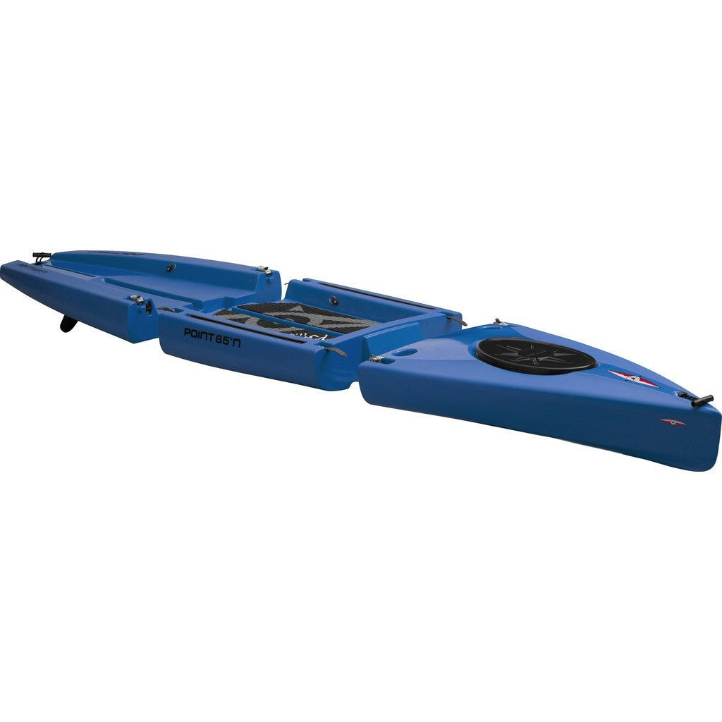 Point 65 Rum Runner Modular Kayak Front & Back Section | Blue 53