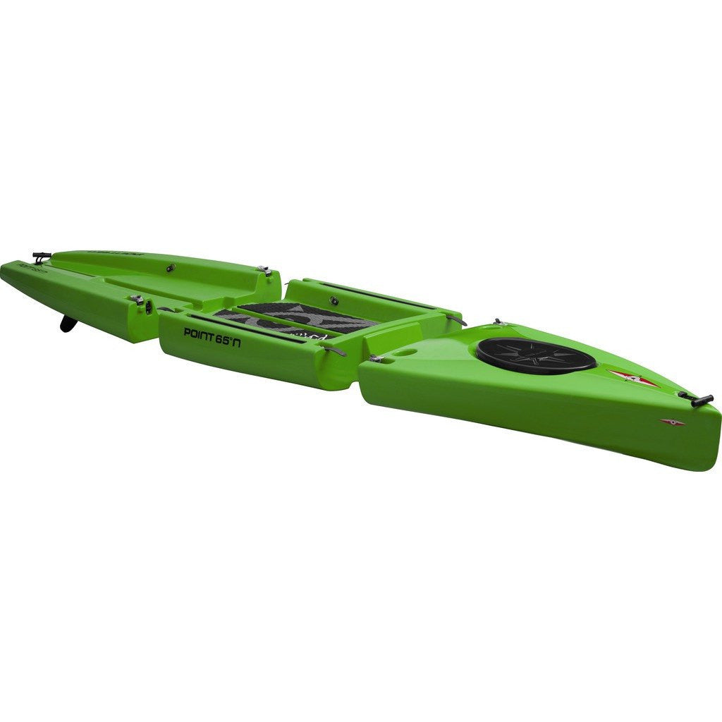 Point 65 Rum Runner 11.5 Modular Kayak Mid Section | Lime 30