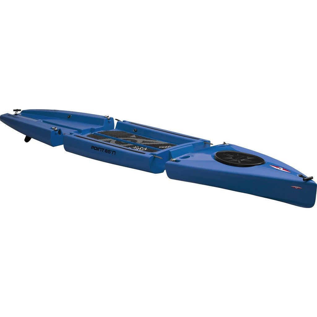Point 65 Rum Runner 12.5 Modular Kayak Mid Section | Blue 37