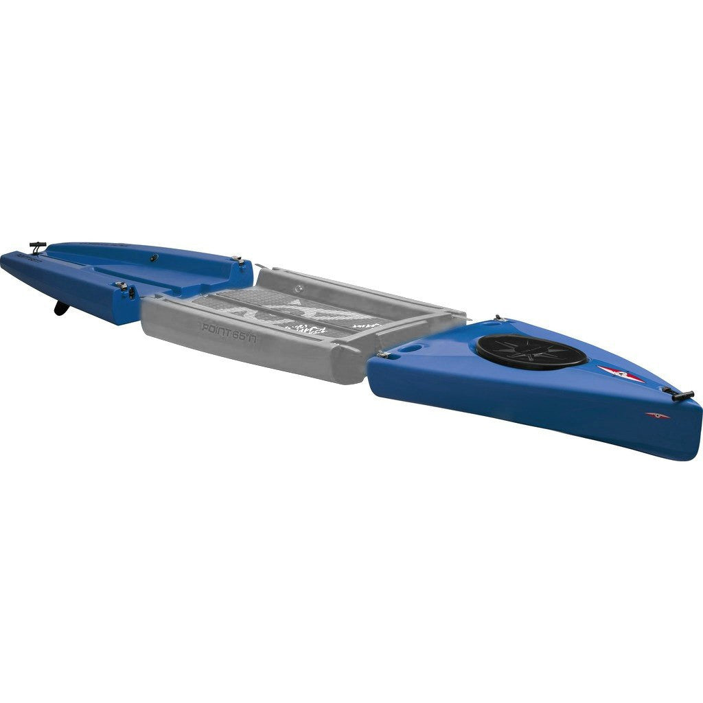 Point 65 Rum Runner Modular Kayak Front & Back Section | Blue