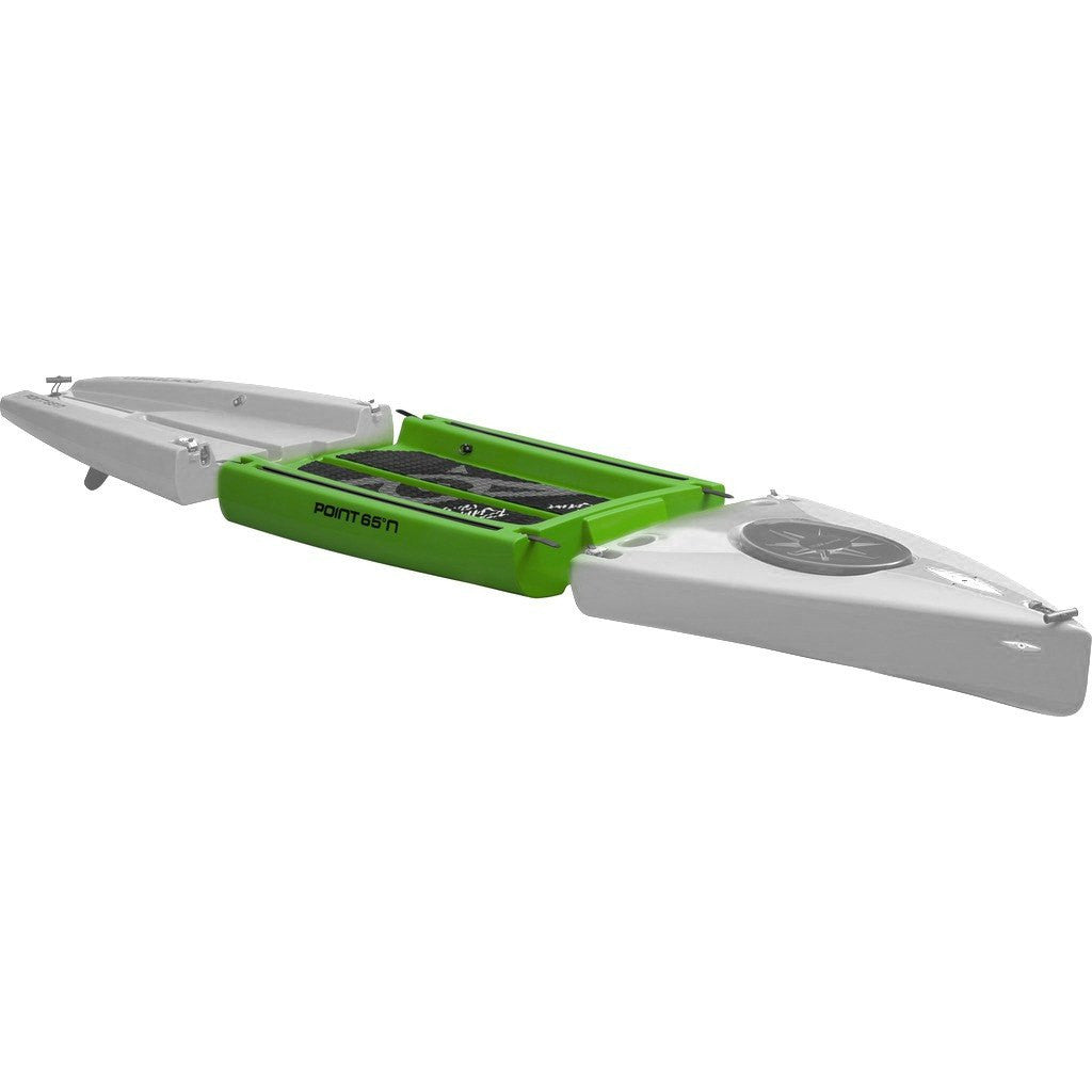 Point 65 Rum Runner 12.5 Modular Kayak Mid Section | Lime