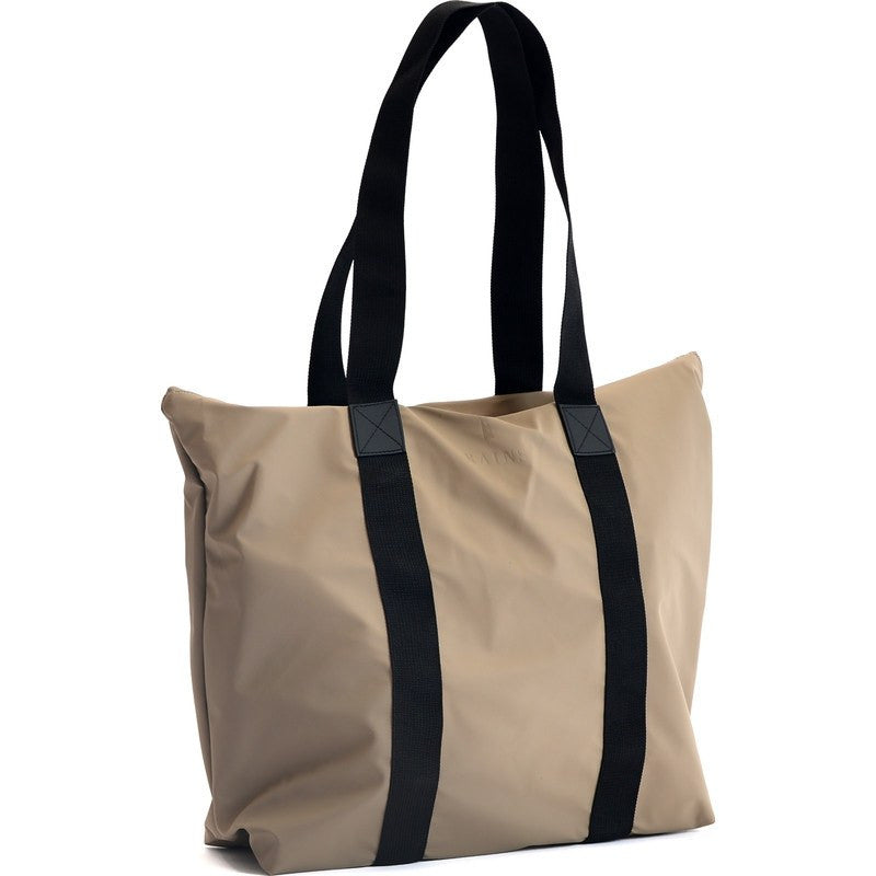 RAINS Waterproof Tote Bag Rush | Soil