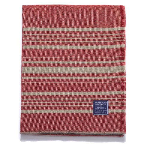 Faribault Weekender Throw | Charcoal/Blue