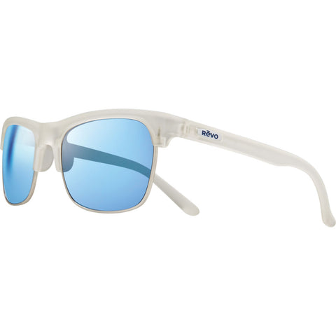 Rēvo Eyewear Ryland Matte Crystal Sunglasses | Blue Water