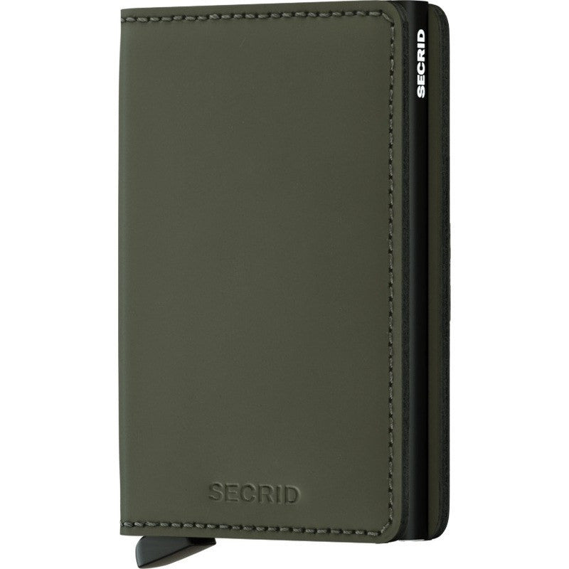 Secrid Slim Wallet | Matte Green SM-Green