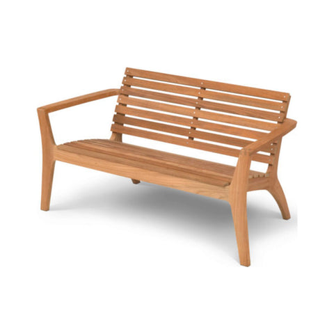 Skagerak Regatta Lounge Bench | Teak