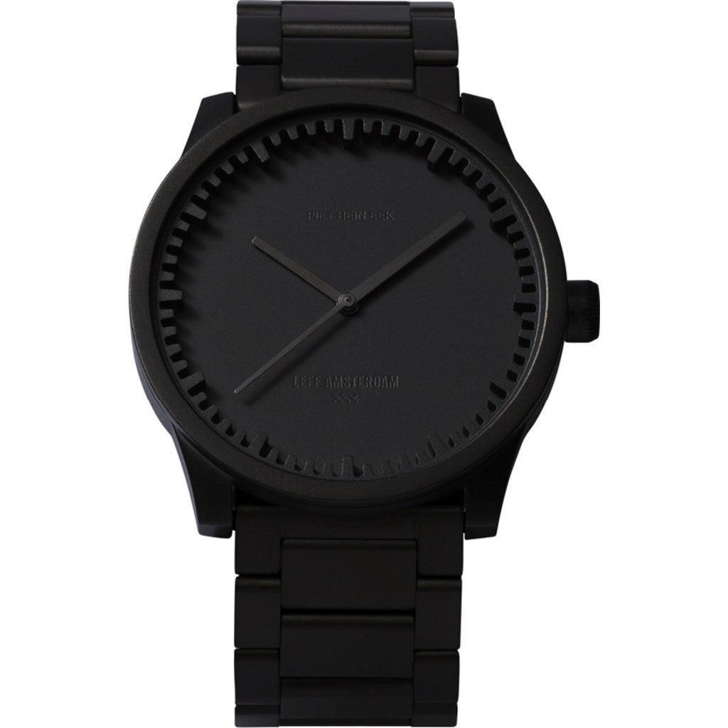 LEFF Amsterdam S38 Tube Watch | Black LT71103