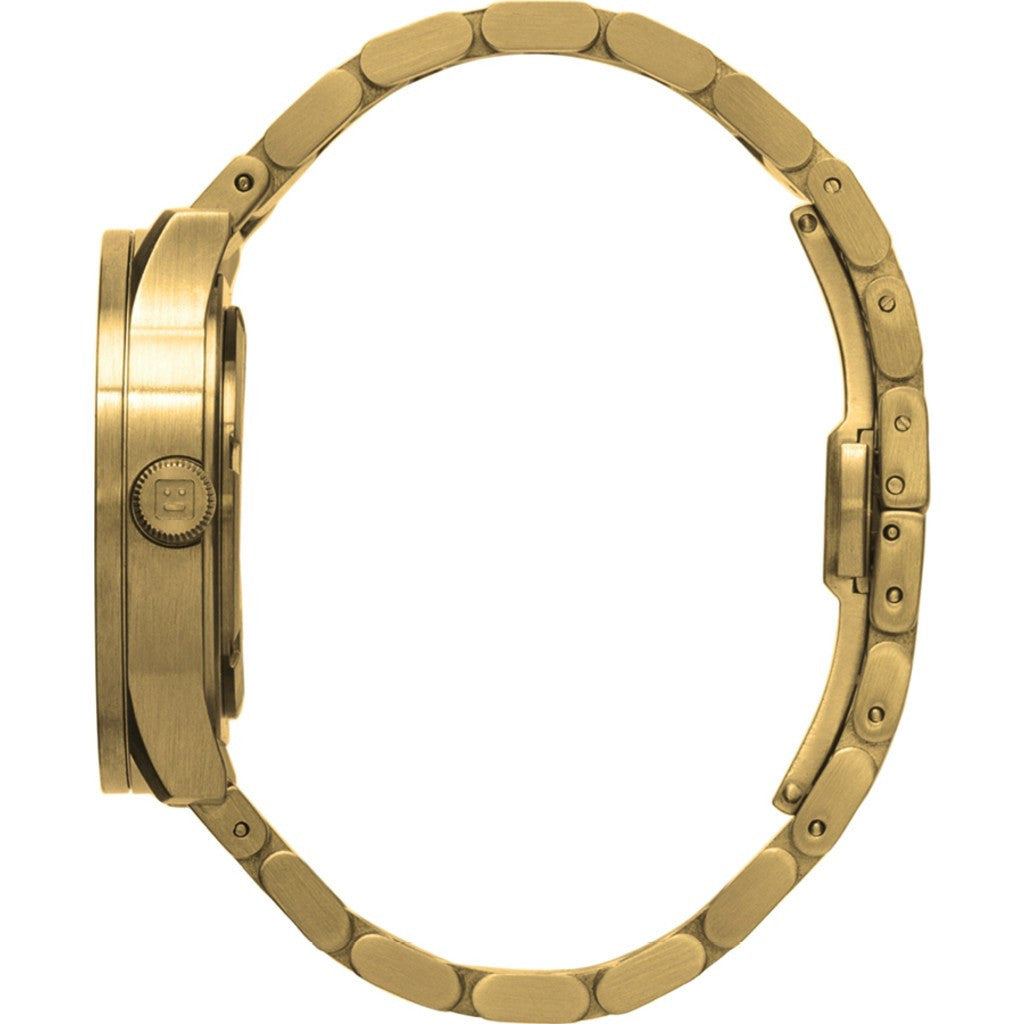 LEFF Amsterdam S38 Tube Watch | Brass LT71104