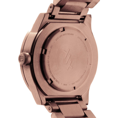 LEFF amsterdam S38 Tube Watch | Rose Gold-LT71104