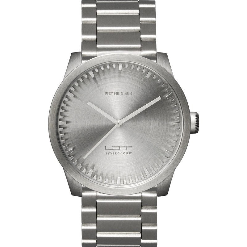 LEFF amsterdam S42 Tube Watch | Stainless Steel