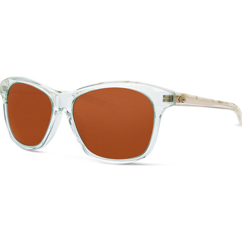 Costa Sarasota Shiny Seafoam Sunglasses | Copper 580G