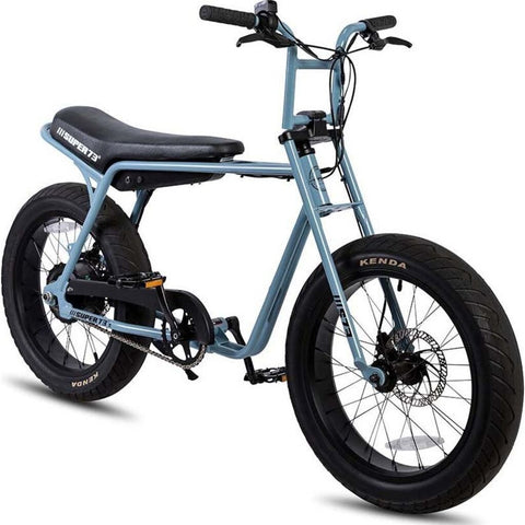 Super73 Z1 Compact Urban Electric Motorbike | Steel Blue