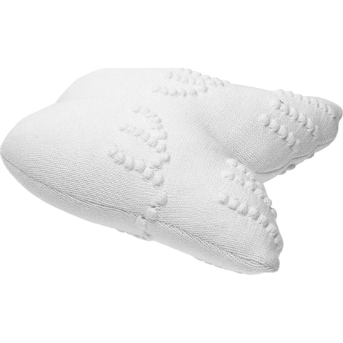 Lorena Canals Knitted Angel Wings Cushion