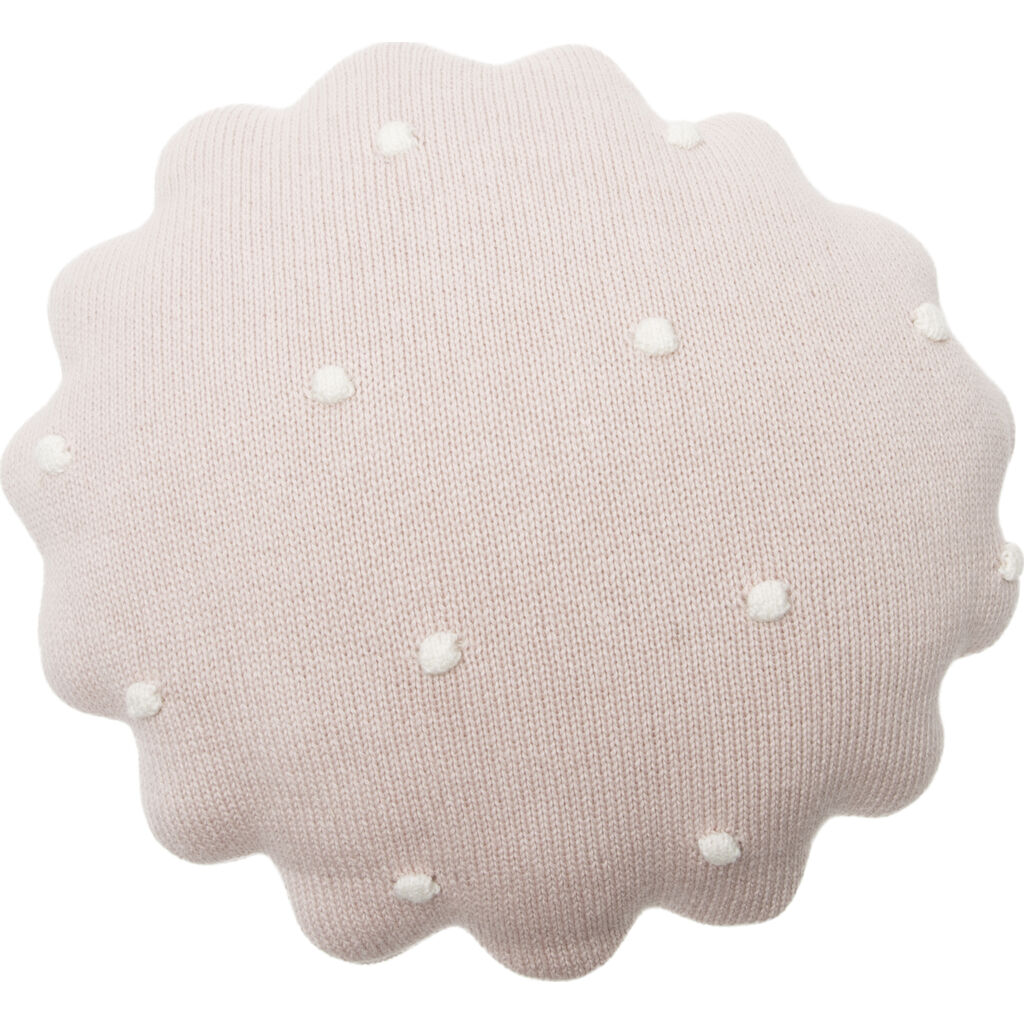 Lorena Canals Knitted Round Biscuit Cushion