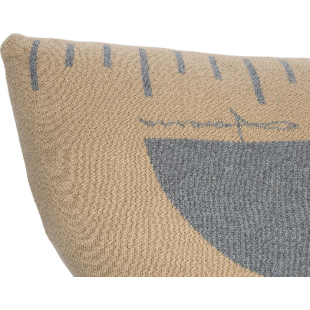Lorena Canals Knitted Ruler Washable Cushion