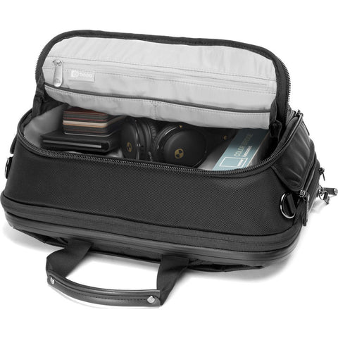 Booq Saddle Pro Expandable Briefcase | Black SDP-BLKN