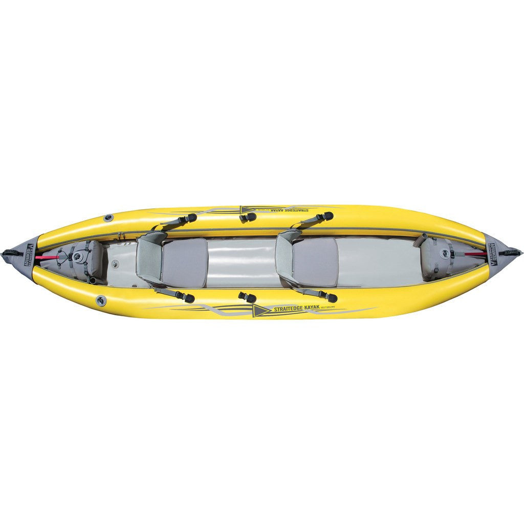 Advanced Elements StraitEdge2 | Yellow/Gray AE1014-Y