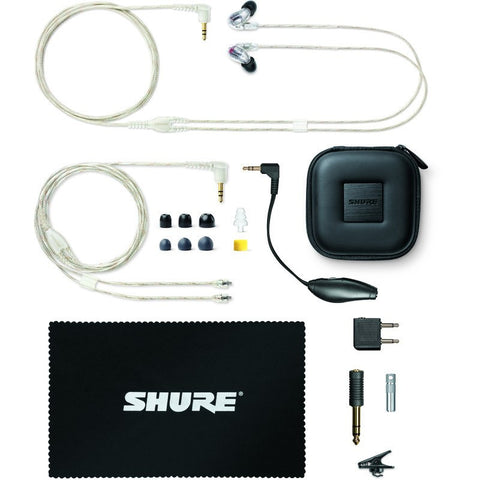 Shure SE846 Sound Isolating Earphones | Crystal Clear SE846-CL