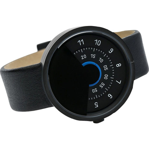 Anicorn Series 000 Automatic Watch | Black/Blue SERIES000BB