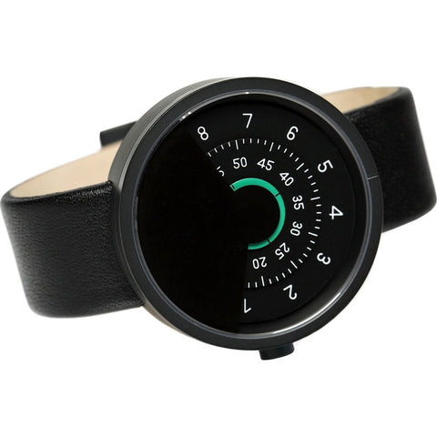 Anicorn Series 000 Automatic Watch | Black/Green SERIES000BG
