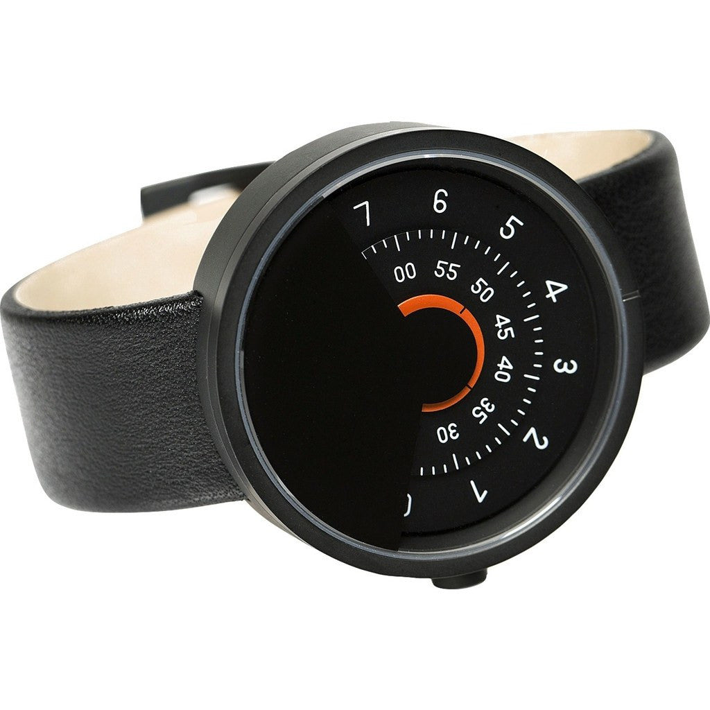 Anicorn Series 000 Automatic Watch | Black/Orange SERIES000BG