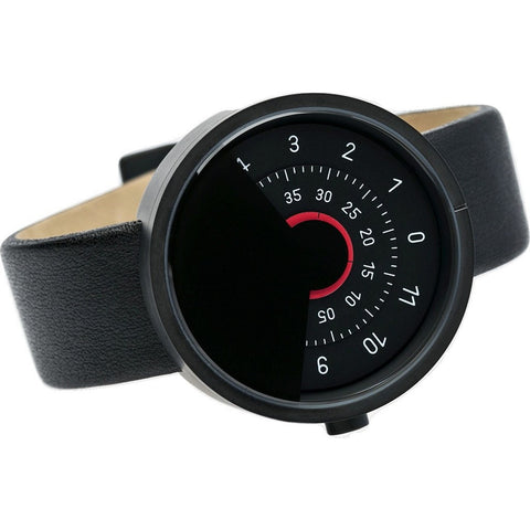 Anicorn Series 000 Automatic Watch | Black/Red SERIES000BR