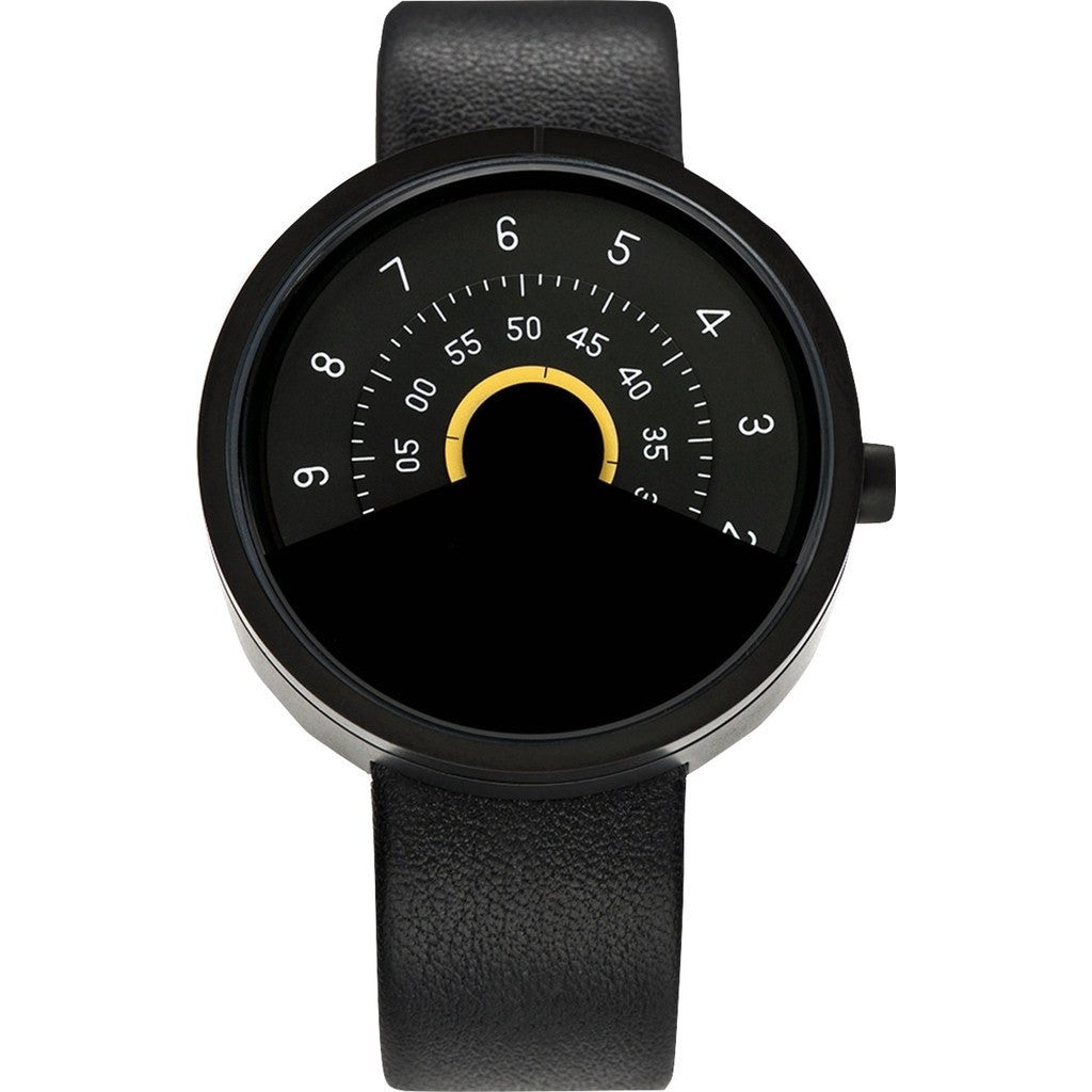 Anicorn Series 000 Automatic Watch | Black/Yellow SERIES000BY