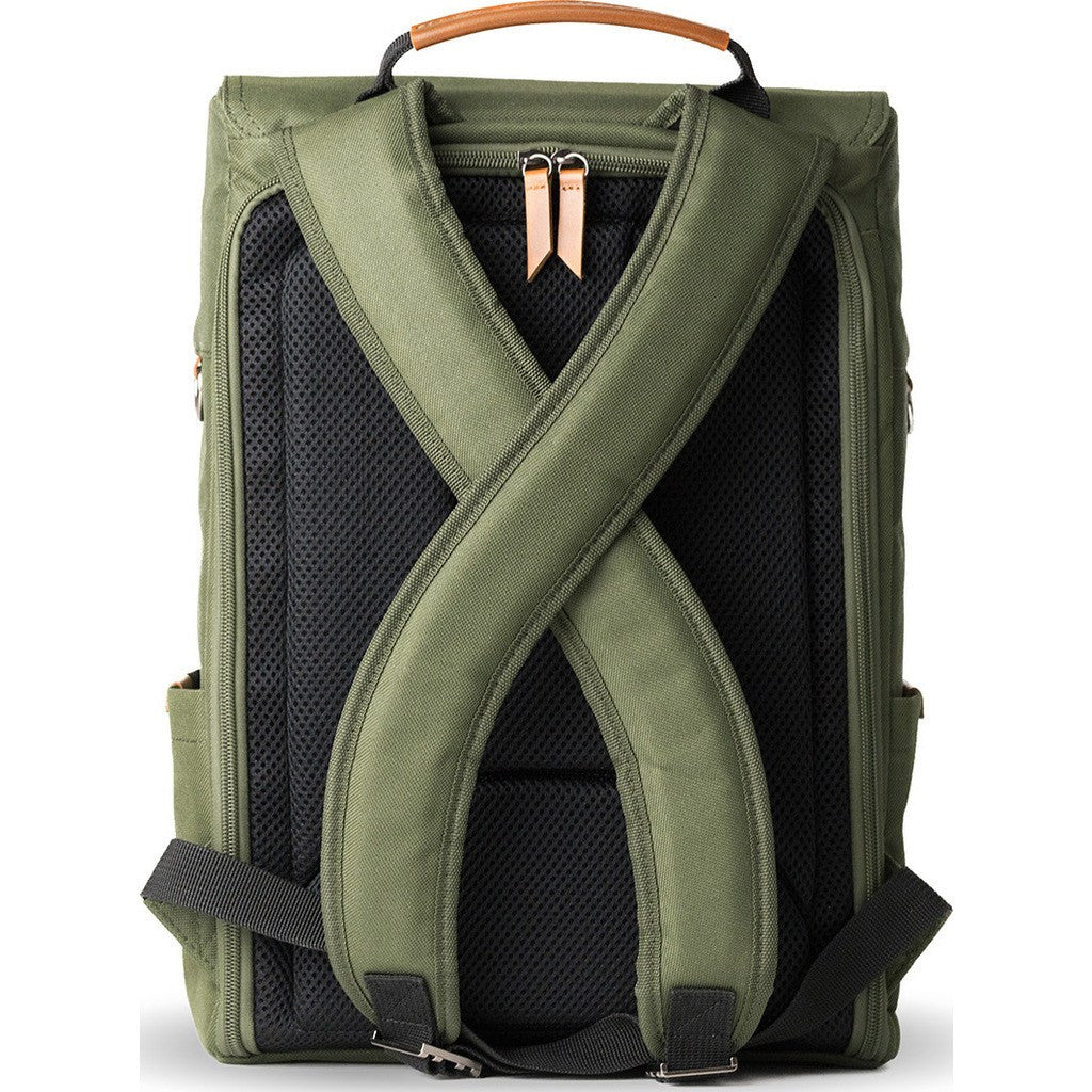 Vinta S-Series Travel Camera Backpack| Forest Green/Tan-SF-T01