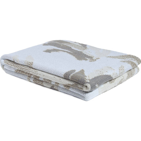 in2green Stacy Garcia Poly Brushstroke Throw | Camel/Ivory/Cargo SG-POLY-TC2