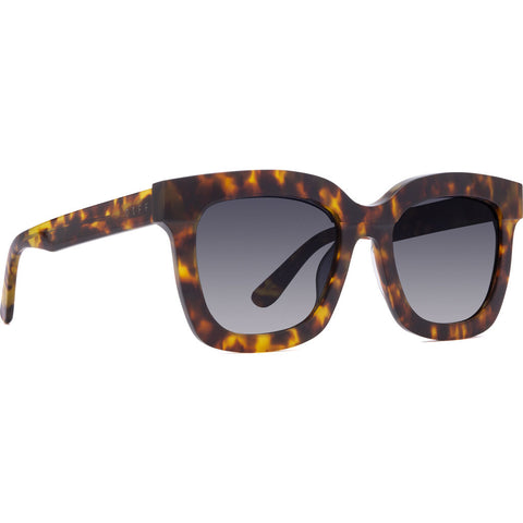 DIFF Eyewear Carson Polarized Sunglasses | Amber + Steel Gradient Lens