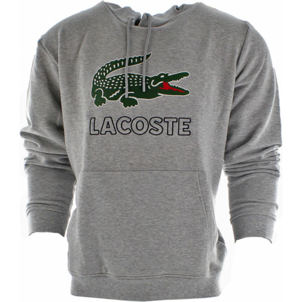 Lacoste Men's Hooded Long Sleeve Fleece Sweatshirt