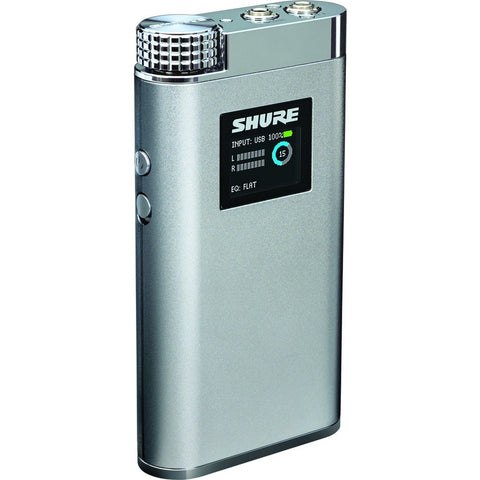 Shure SHA900 Portable Listening Amplifier Black