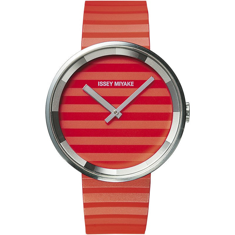 Issey Miyake Please Orange Watch | Polyurethane SILAAA03