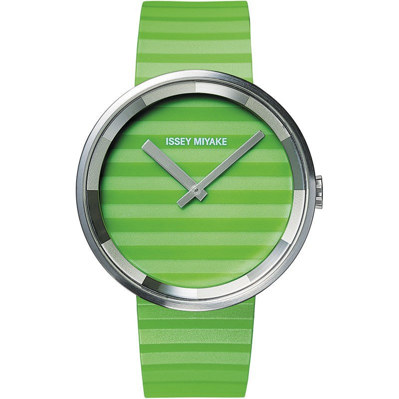 Issey Miyake Please Green Watch | Polyurethane SILAAA04