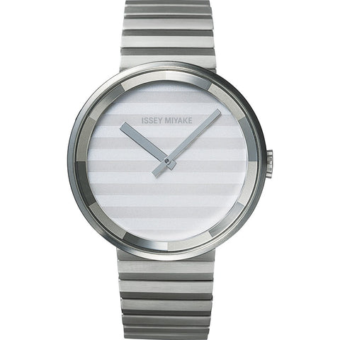 Issey Miyake Please Silver Watch | Steel Silaaa05 Mp/Gy/P