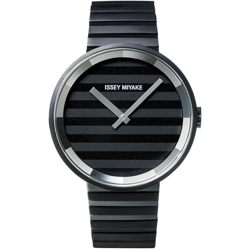 Issey Miyake Please Black/Grey Watch | Steel SILAAA06