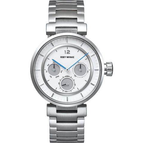 Issey Miyake W-Mini White Watch | Steel Silaab01 Lp/3#Iwh/P