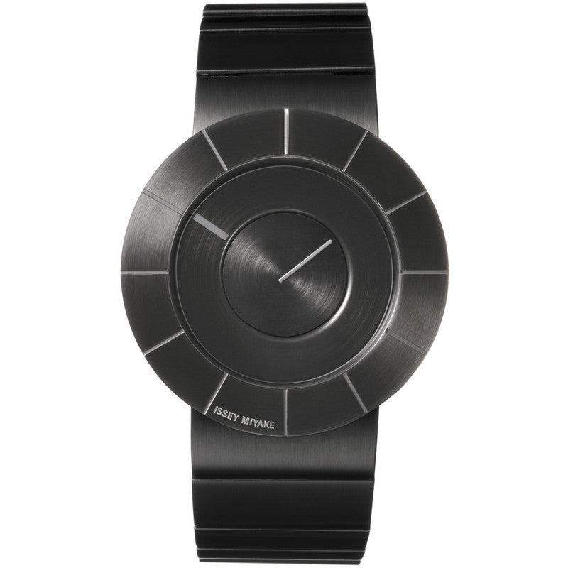 Issey Miyake To Black Steel Watch Steel SILAN002
