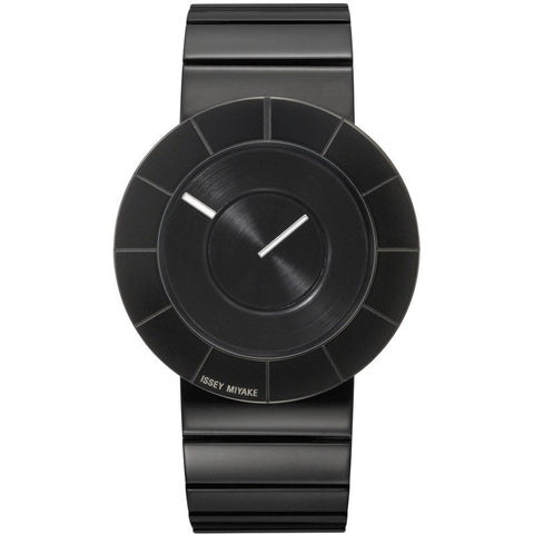 Issey Miyake To Black Steel Watch Steel SILAN007
