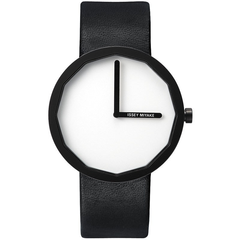 Issey Miyake Twelve White Men's Watch | Leather SILAP002