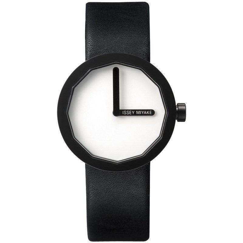 Issey Miyake Twelve White Women's Watch | Leather SILAP005
